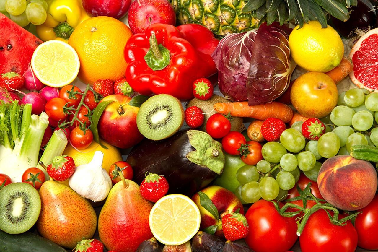 Днем, фрукты овощи картинки